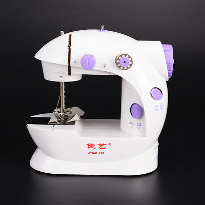 Mini electric household sewing machine dual speed Double Thread power supply GT