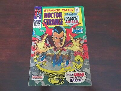 Strange Tales #156 (May 1967, Marvel) Nick Fury Dr Strange VF-