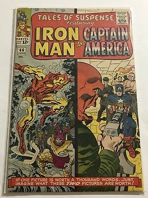 Tales Of Suspense #66 VG Iron Man/Captain Huge Collection Check Other Listings!