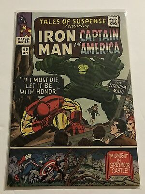 Tales Of Suspense #69 VG+ Iron Man/Captain Huge Collection Check Other Listings!