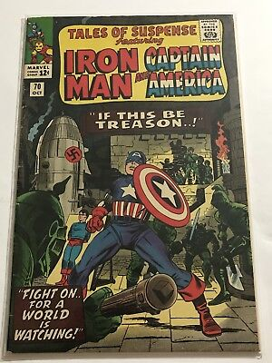 Tales Of Suspense #70 VG+ Iron Man/Captain Huge Collection Check Other Listings!