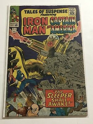 Tales Of Suspense #72 VG Iron Man/Captain Huge Collection Check Other Listings!