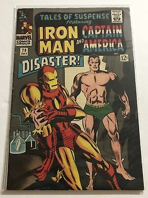 Tales Of Suspense #79 VG+ Iron Man/Captain Huge Collection Check Other Listings!