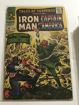 Tales Of Suspense #80 VG Iron Man/Captain Huge Collection Check Other Listings!