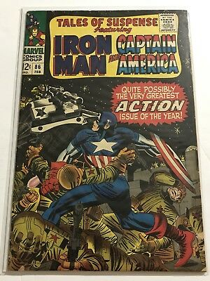 Tales Of Suspense #86 VG Iron Man/Captain Huge Collection Check Other Listings!