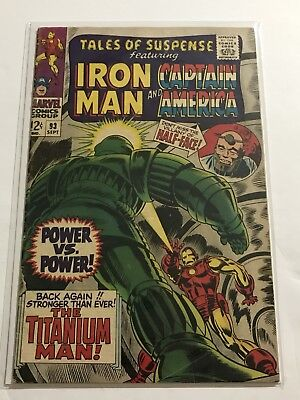 Tales Of Suspense #93 VG+ Iron Man/Captain Huge Collection Check Other Listings!