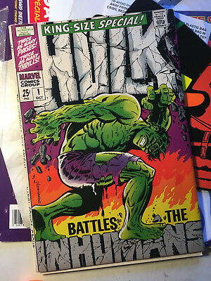 The Incredible Hulk Special #1 (Oct 1968, Marvel) Annual STERANKO High Grade