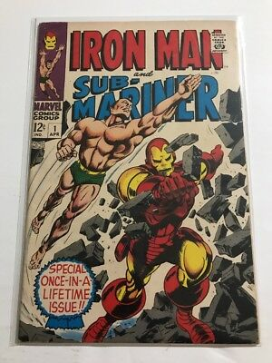 Iron Man And Sub-Mariner #1 VG/FN Huge Collection Check Other Listings!