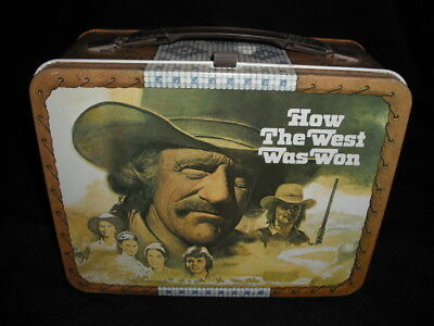 1978 How the West was Won Lunch Box - No Thermos * Vintage * Western