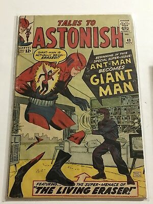 Tales To Astonish #49 GD Hulk/Ant Man Huge Collection Check Other Listings!