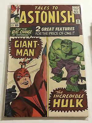 Tales To Astonish #60 VG Hulk/Ant Man Huge Collection Check Other Listings!
