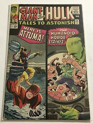 Tales To Astonish #64 VG- Hulk/Ant Man Huge Collection Check Other Listings!