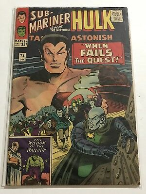 Tales To Astonish #74 VG/FN Hulk/Ant Man Huge Collection Check Other Listings!