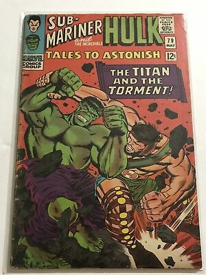 Tales To Astonish #79 VG Hulk/Ant Man Huge Collection Check Other Listings!