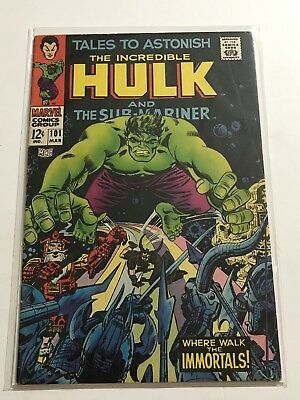 Tales To Astonish #101 VG Hulk/Ant Man Huge Collection Check Other Listings!