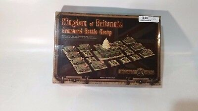 Spartan Games Dystopian Wars Kingdom of Britannia Armoured Battle Group Box
