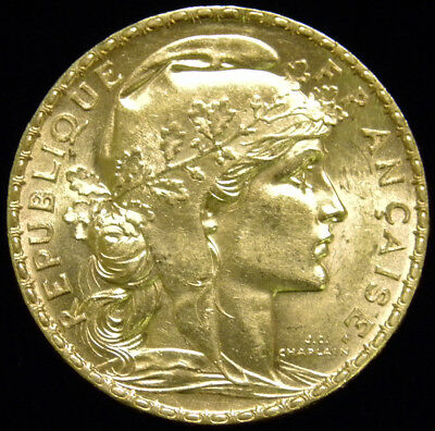 1906 France 20 Francs Gold Coin (Uncirculated)