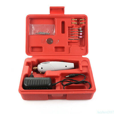 Small volume Drill Grinder Set Jewellry Engraver Sander Kit for Ceramic/Glass FK