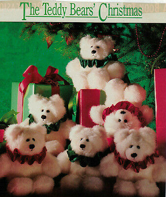 Teddy Bears' Christmas Pattern - 8.25in - 0032