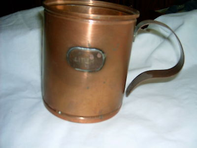 1 Litre Beer Tanker with Handle