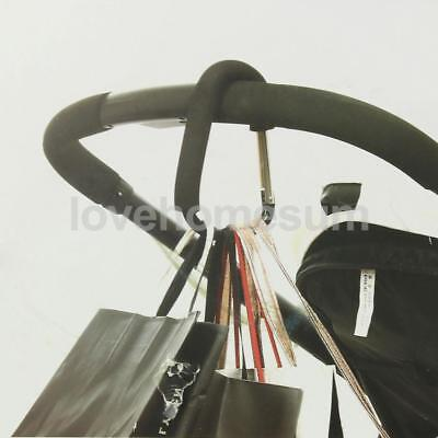 Pushchair Pram Stroller Hanger Hook belt Hanging bags shopping carrier