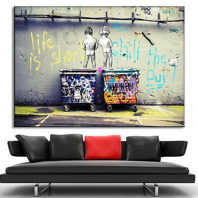 Abstract Modern Canvas Painting Print Picture Home Room Wall Art Decor Unframed