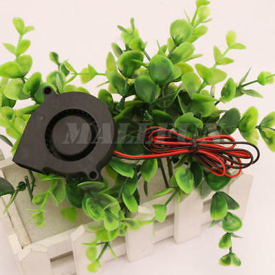 5015 Brushless Cooling Blower Fan DC 24V 50 x 50 x15mm 50mm 2 wires New 1 pcs