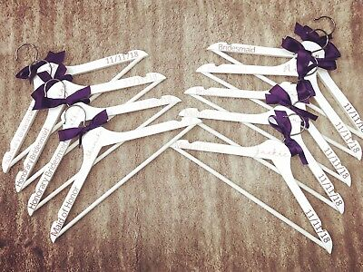 Personalized Hangers For Wedding