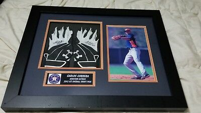 Carlos Correa Game Used 2012 Rookie year Game Used Batting Gloves Autographed
