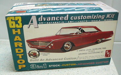 AMT 1/25 Scale 1963 Ford 500 XL Sports Hardtop 'Advanced Customizing Kit'
