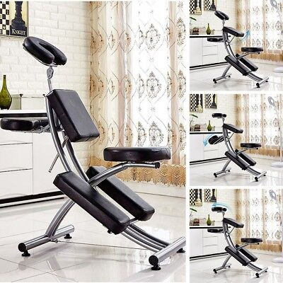 Salon SPA Black/Brown Massage Bed Tattoo Chair Facial Table Beauty Basket  Hot