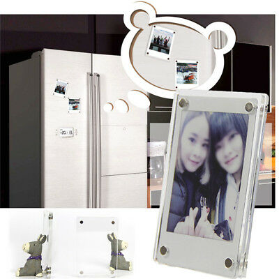 For Polaroid 2x CAIUL Magnetic Stickers Phone Printer Photos Acrylic Photo Frame