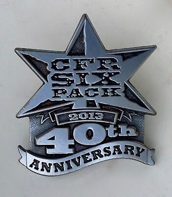 CFR Six Pack 2013 40th Anniversary Pin Canadian Finals Rodeo Pin