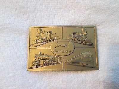 Burlington Northern Railroad Belt Buckle 1976 R & S Never Used
