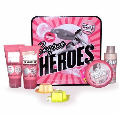 Soap And Glory Soaper Heroes Special Edition Christmas Gift Set