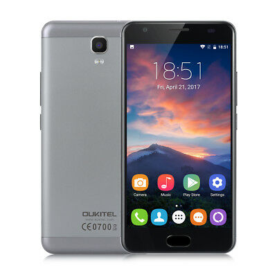 """5.5"""" OUKITEL K6000 Plus 4G FHD Móvil Android 7.0 Octa Core 4+64GB Touch ID 2*SIM"""