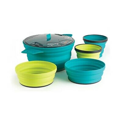 Sea To Summit X-Set 31 - Set de cocina plegable y compacto para dos personas