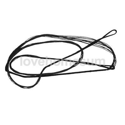 New Archery Bowstring Bow String Black for Recurve Bow Longbow - Various Sizes