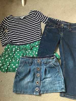 Age 4 Girls, Mini Boden And Next Bundle.