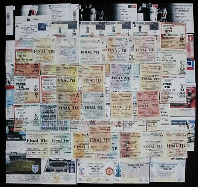 FA Cup Final Ticket 1921 - 2010
