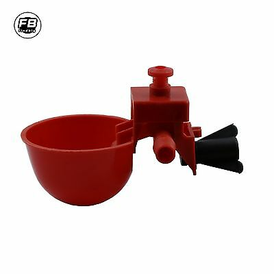 Poultry Water Drinking Cups- -Chicken/Quail Plastic Automatic Drinker