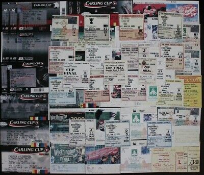League Cup Final Ticket 1967 - 2010
