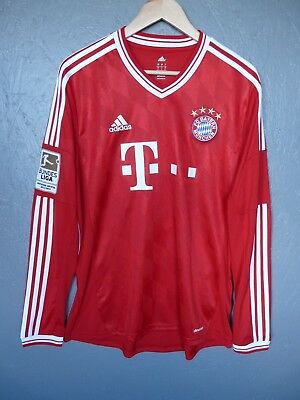 Bayern Munich 19 Gotze Adidas 2013 Home Football Shirt Trikot Sz Large (207)
