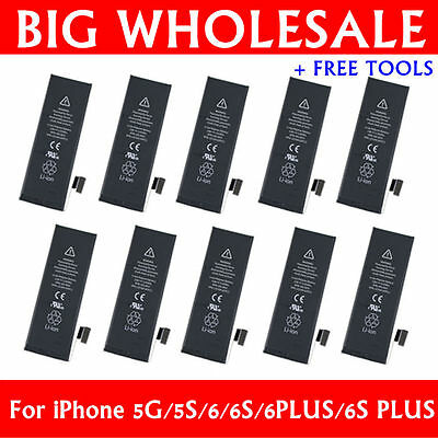 Wholesale OEM Li-ion Internal Battery Replacement for iPhone 5 5S 6 6S Plus TL