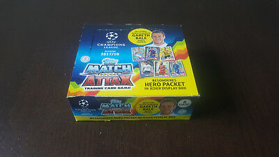 Topps UEFA Champions League 2017/2018 Trading Cards 1 Display 24 Booster