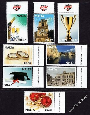 Malta 2012 Occasions SG1722 - 1729 Complete Set Unmounted Mint