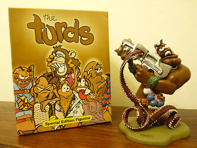 The Turds figurine Collectable  Special Edition - Rimbo -  Fun Gift Idea,