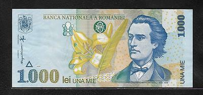 Romania  One Thousand  Lei    (#B 391  )