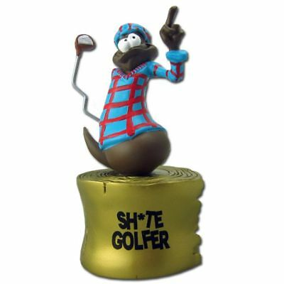 The Turds Trophies- Sh*t Golfer - Fun Golfing Gift Award