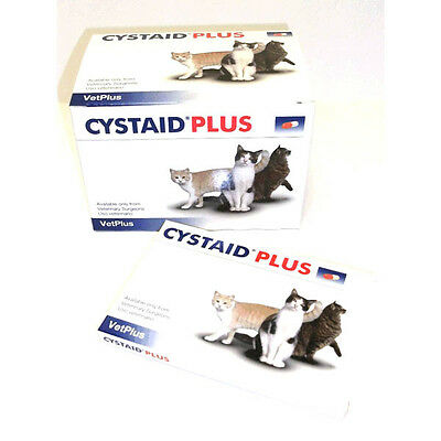 *NEW* Cystaid Plus Capsules for Cats Feline Cystitis - Pack of 30 - VetDispense